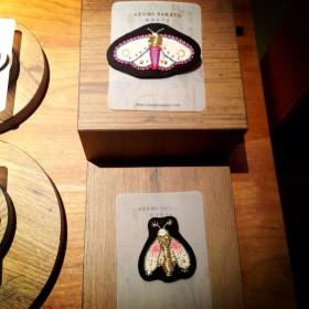 【神楽坂BAR英】2013年4月15日〜5月中旬 美術家:坂田あづみさん